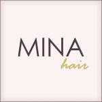 Mina Hair Logo